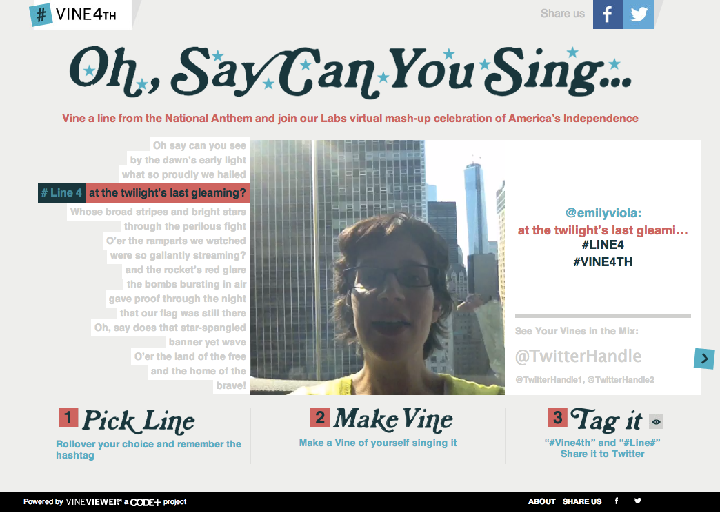 oh say can you sing